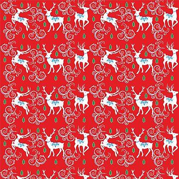 Christmas Reindeer by mitalim