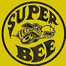 Super Bee Vintage Black by Tasty Clothing