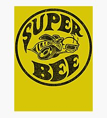 Super Bee Vintage Black Photographic Print