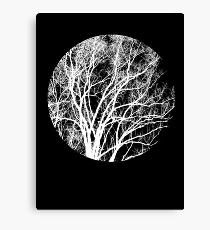 Nature into Me Canvas Print