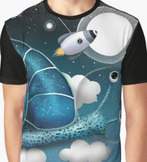 Space Snail Graphic T-Shirt