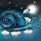 Space Snail by Karin Taylor