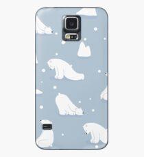patterns Everyday | Yoga Bears Case/Skin for Samsung Galaxy