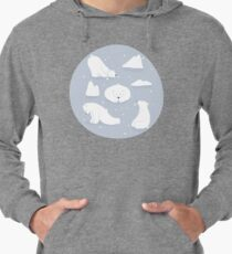 patterns Everyday | Yoga Bears Lightweight Hoodie