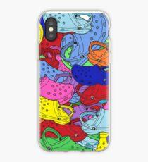 Vinilo o funda para iPhone Croc Collage Patrón