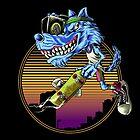 Air Wolf by monochromefrog