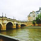 PARIS FRANCE SEINE RIVER  by JoAnnHayden