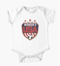 Body de manga corta para bebé Escudo Nacional de Fútbol de EE. UU. Desde 1985