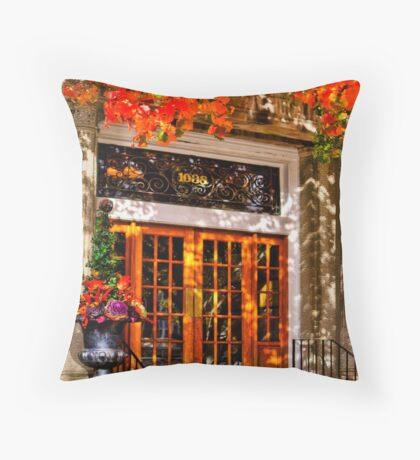 Warm welcome  Throw Pillow
