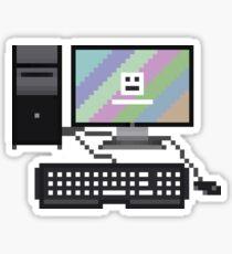 8Bit Computer Sticker