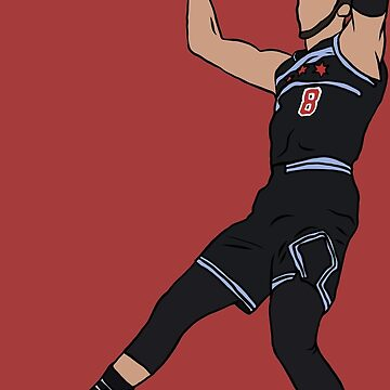 Zach Lavine Slam Dunk by RatTrapTees