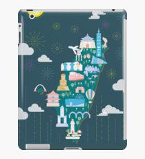 Lovely Taiwan illustration iPad Case/Skin