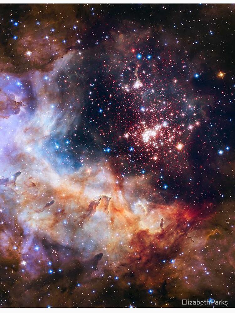 Galaxy Gas Cloud by ElizabethParks