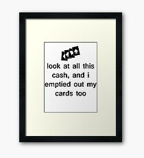 The Weeknd - Wicked Games Framed Print