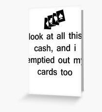 The Weeknd - Wicked Games Greeting Card