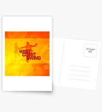 West Coast swing Postcards