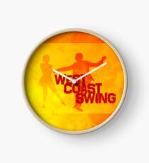 West Coast swing Clock