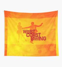 West Coast Swing Wandbehang