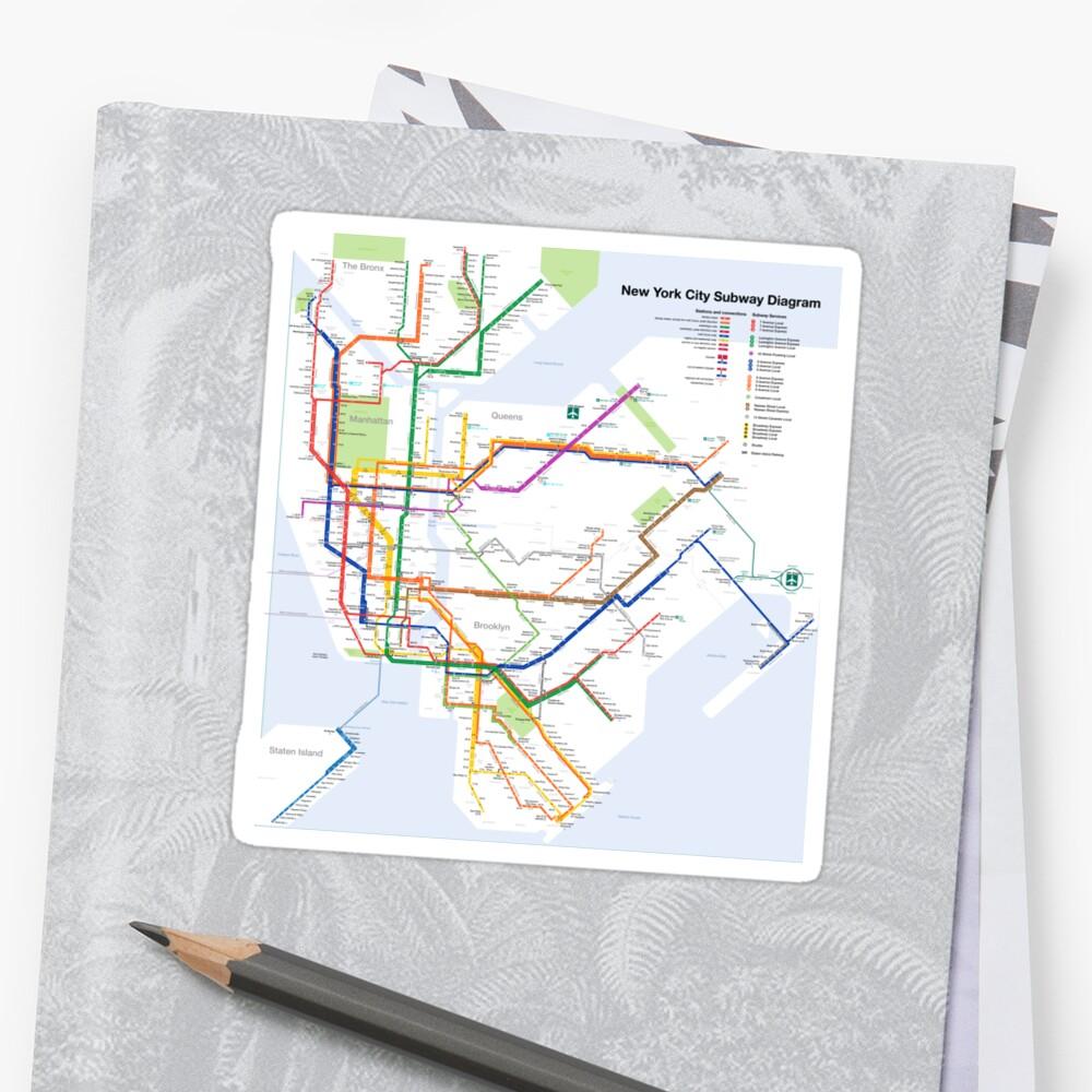 New York Subway Map Vignelli.Massimo Vignelli Style Nyc Subway Map System New York Usa Hd