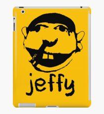 Vinilo o funda para iPad jeffy face porque