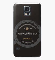 Coffee logo Case/Skin for Samsung Galaxy