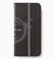 Coffee logo iPhone Wallet/Case/Skin
