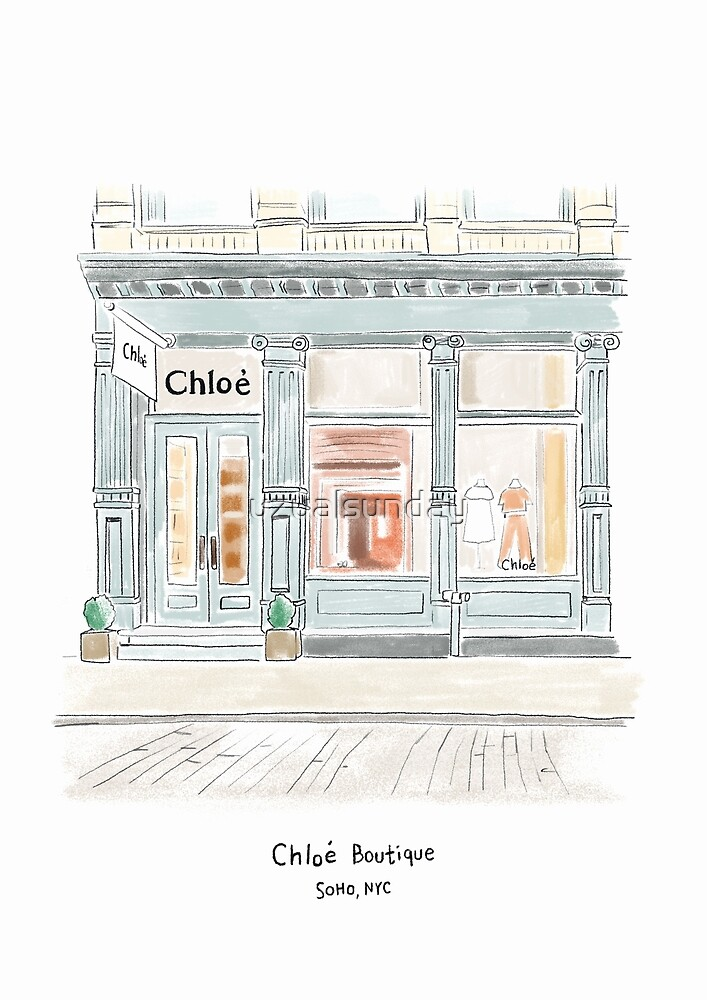 Chloe Boutique in SoHo NYC