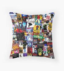 Musicals Collage IV  Floor Pillow