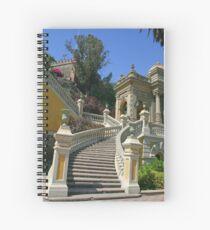 Cerro (The Hill) Santa Lucia - Santiago, Chile Spiral Notebook