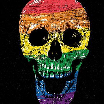 LGBT skull by GeschenkIdee