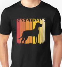 Vintage Retro Great Dane Christmas Gift Unisex T-Shirt