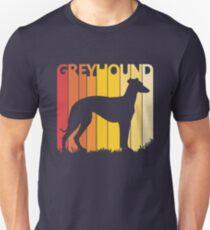Vintage Retro Greyhound Christmas Gift Unisex T-Shirt