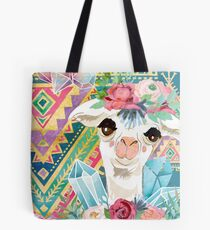 Jewel Boho Alpacas for Makers, Knitters, Crocheters, all crafts. Tote Bag