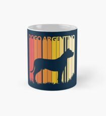 Vintage Retro Dogo Argentino Christmas Gift Classic Mug