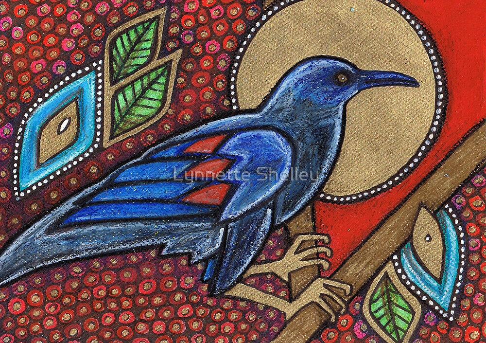 Blue Bird by Lynnette Shelley