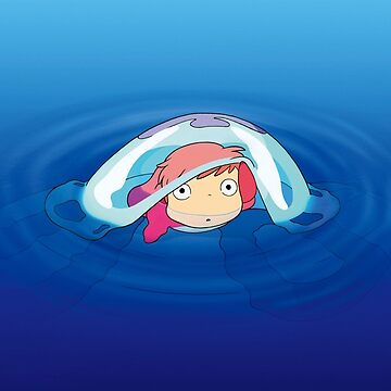 Ponyo on the surface by MrTartBottom