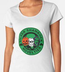 Silver shamrock Women's Premium T-Shirt