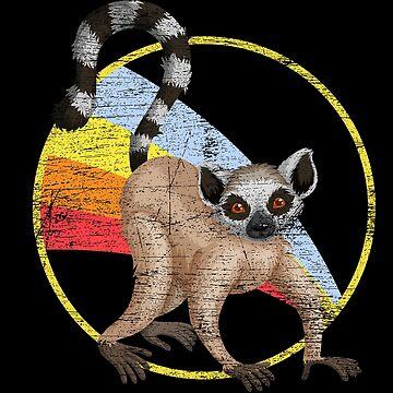 Lemur animal by GeschenkIdee