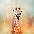 Young Giraffe. by Lyn Darlington