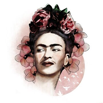 Frida Kahlo illustration by carolam