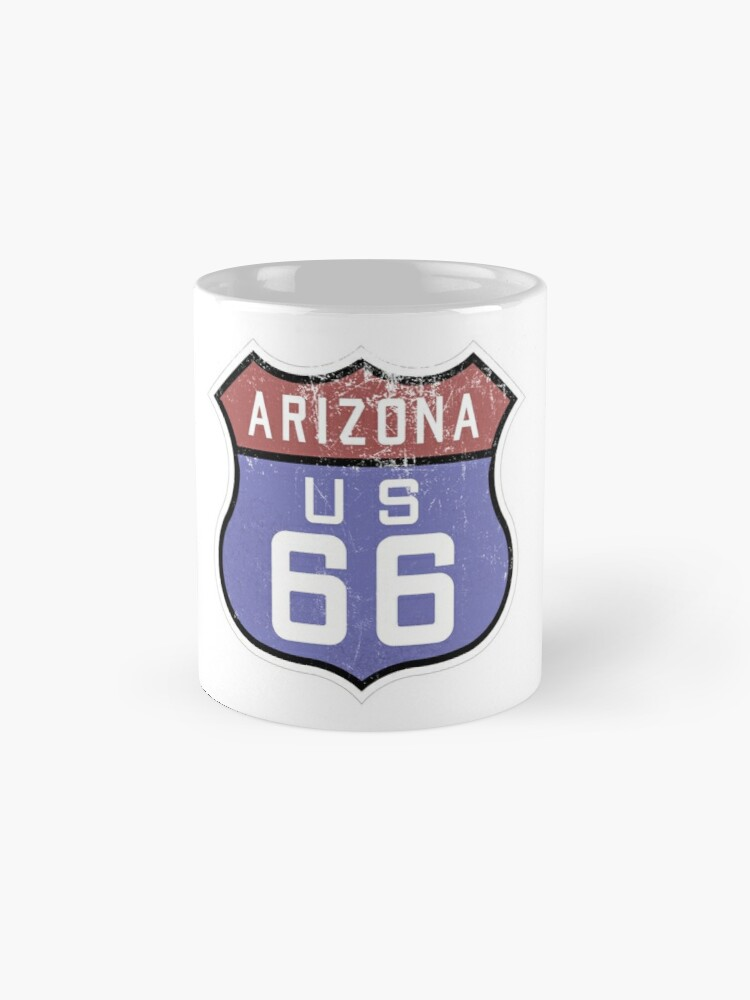 Alternate view of Route 66 Sign Mugs