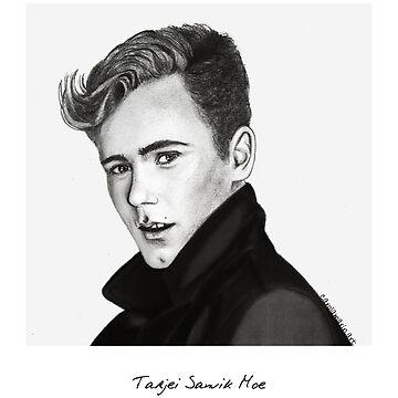 Tarjei Sandvik Moe drawing by carolam