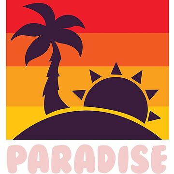 Sunset in paradise by schnibschnab