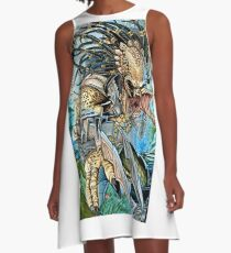 Predator 2 A-Line Dress