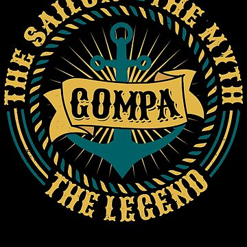 Gompa The Sailor The Myth The Legend Father's day xmas gift by BBPDesigns