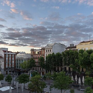 Gallivanting Around Madrid is a Pure Delight - Plaza de Santa Ana Colourful Dawn by GeorgiaM