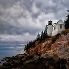 Bass Harbor Lighthouse- Acadia National Park, Maine by Kathy Weaver
