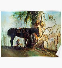 Squatter Scout - Waltzing Matilda Series Poster