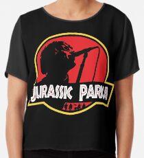 Jurassic Parka Chiffon Top