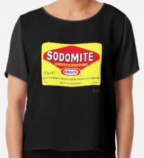 SODOMITE Clothing, Cards, Device Cases, Tote Bags & Home Decor Chiffon Top